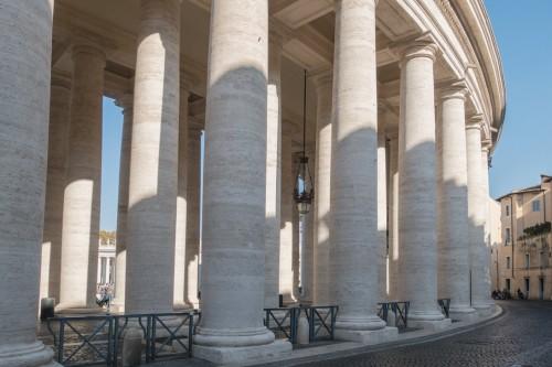 Kolumnada na placu św. Piotra, Gian Lorenzo Bernini