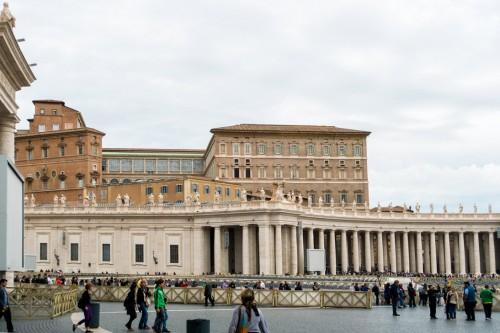 Kolumnada na placu św. Piotra, proj. Gian Lorenzo Bernini