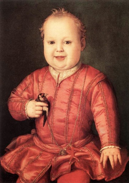 Giovanni di Medici jako dziecko, Galleria Uffizi (Florencja), zdj. Wikipedia