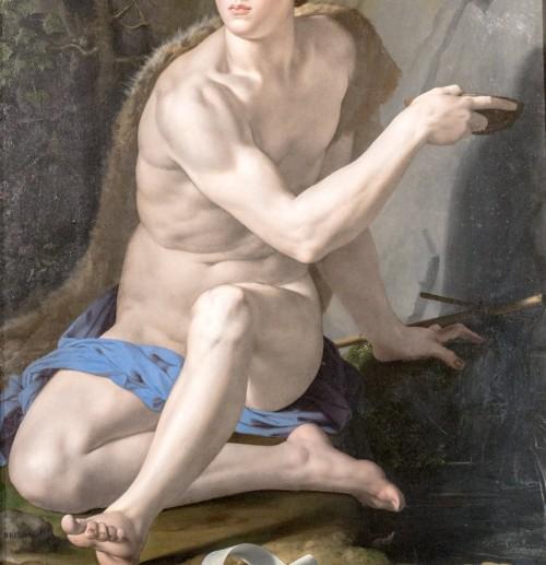 Jan Chrzciciel, fragment, Bronzino, Galleria Borghese