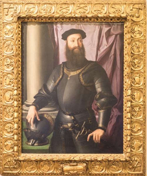 Stefano di Colonna, portret, Bronzino, Galleria Nazionale d'Arte Antica, Palazzo Barberini