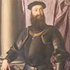 Portret Stefana Colonny, fragment, Bronzino (Agnolo di Cosimo), Galleria Nazionale d'Arte Antica, Palazzo Barberini