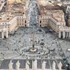 Obelisk Vaticano i plac św. Piotra