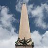 Obelisk Vaticano, Piazza di San Pietro