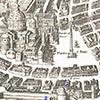 Plac przed bazyliką św. Piotra, rycina, Antonio Tempesta, ok. 1593