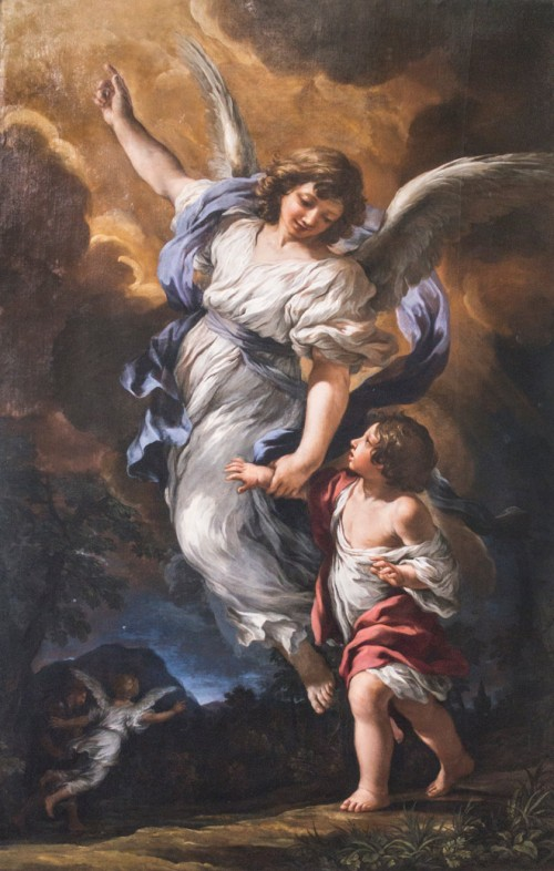 Pietro da Cortona, The Guardian Angel, Galleria Nazionale d'Arte Antica, Palazzo Barberini