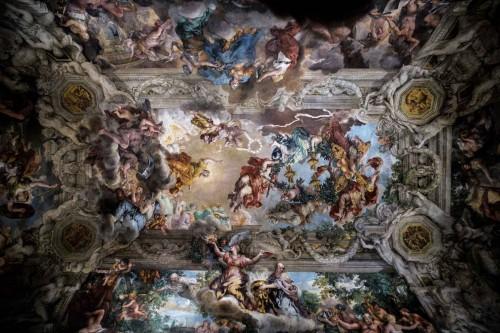Pietro da Cortona, fresk - Triumf Opatrzności Bożej, Palazzo Barberini, Salone Grande