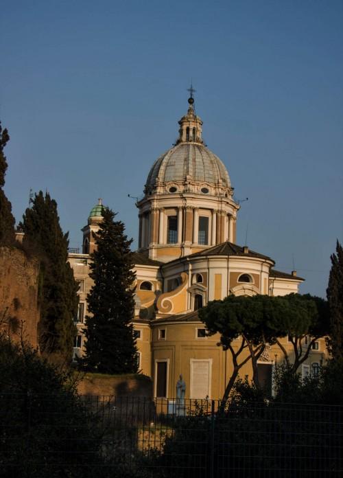 Pietro da Cortona, kopuła bazyliki San Carlo al Corso