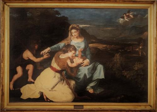 Pietro da Cortona, Madonna z Dzieciątkiem wg obrazu Tycjana, Musei Capitolini - Pinacoteca Capitolina