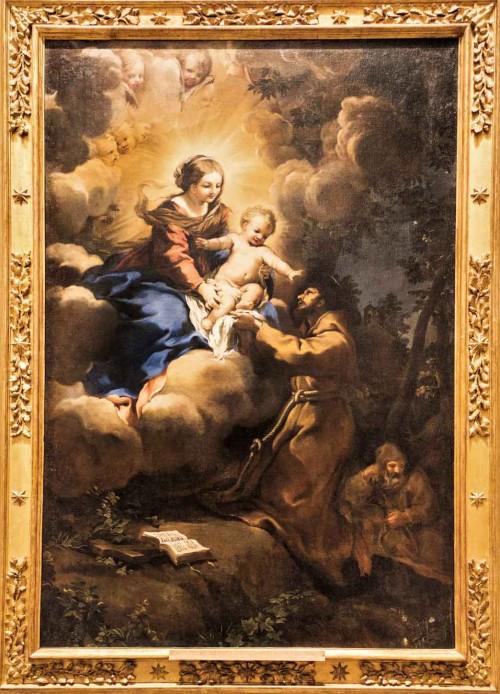 Pietro da Cortona, Madonna ze św. Franciszkiem, Musei Vaticani - Pinacoteca Vaticana