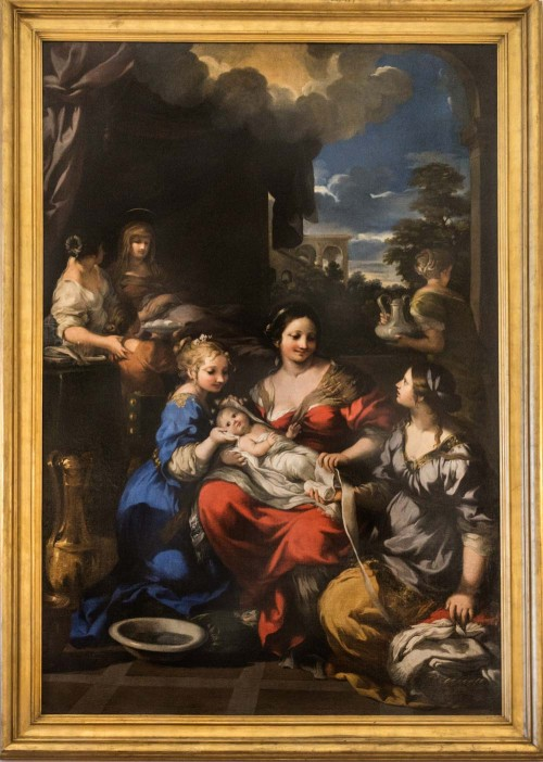 Pietro da Cortona, The Birth of the Virgin Mary, Palazzo Quirinale