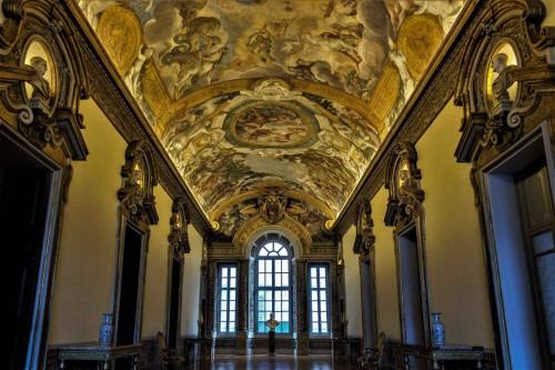 Pietro da Cortona, Palazzo Pamphilj (Piazza Navona), Historia Eneasza