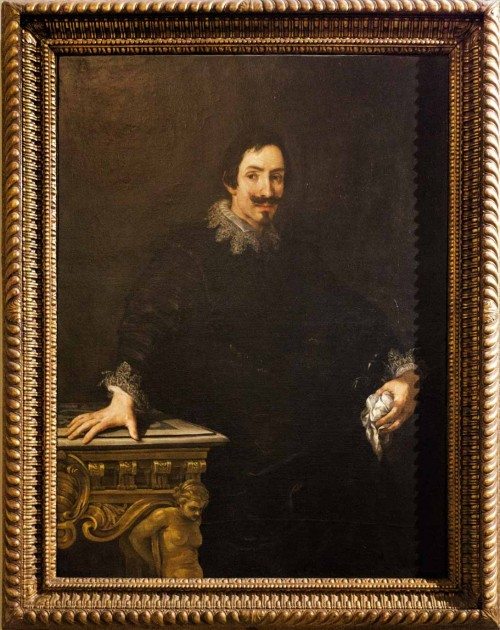 Pietro da Cortona, Portret Marcello Sacchettiego, pierwszego znaczącego mecenasa artysty, Galleria Borghese