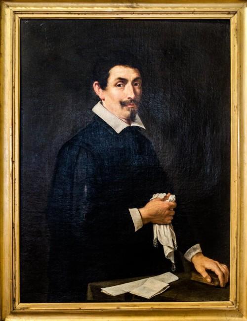 Pietro da Cortona, Portret mężczyzny, Galleria Nazionale d'Arte Antica, Palazzo Barberini