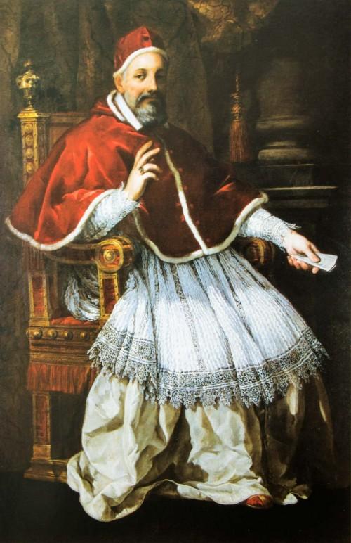 Pietro da Cortona, Portret papieża Urbana VIII, Pinacoteca Capitolina - Musei Capitolini