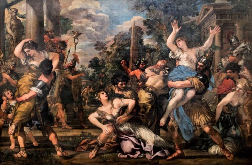 Pietro da Cortona, The Rape of the Sabine Women, Musei Capitolini – Pinacoteca Capitolina