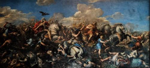 Pietro da Cortona, Zwycięstwo Aleksandra Wielkiego nad Dariuszem, Pałac Konserwatorów - Musei Capitolini