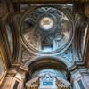 Kościół San Marco, sklepienie kaplicy św. Marka, proj. Pietro da Cortona