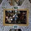Pietro da Cortona, dekoracje malarskie - Salomon z królową Saby, Palazzo Mattei di Giove