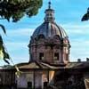Pietro da Cortona, kopuła kościoła Santi Luca e Martina