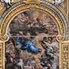 Pietro da Cortona, sklepienie - Wizja św. Filipa Nereusza, kościół Santa Maria in Vallicella