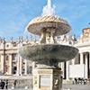 Piazza di San Pietro, fontanna Carla Maderny