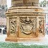 Piazza di San Pietro, fontanna Klemensa X, fragment