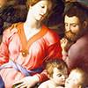 Bronzino, Święta Rodzina z Janem Chrzcicielem, Galleria degli Uffizi, Firenze, zdj. Wikipedia