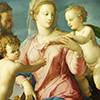 Bronzino, Święta Rodzina z Janem Chrzcicielem, Muzeum Puszkina, Moskwa, zdj. Wikipedia