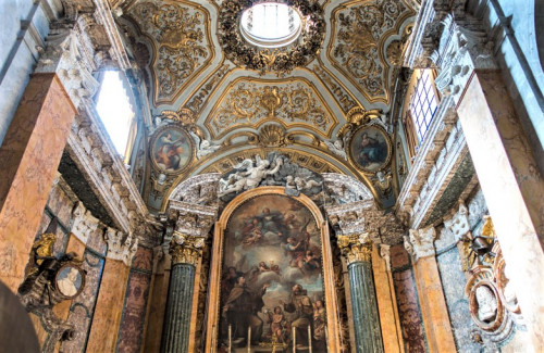 Kaplica Rospigliosi Pallavicini, kościół San Francesco a Ripa