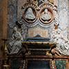 Nagrobki (Maria Camilla Pallavicini i Gian Battista Rospigliosi), kaplica rodowa w kościele San Francesco a Ripa