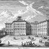 Palazzo Rospigliosi, Giuseppe Vasi, zdj. Wikipedia