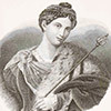 Tullia d'Aragona, Antonio Locatelli, 1837, zdj. Wikipedia