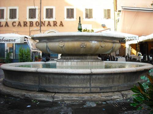 Fontanna na Campo de'Fiori
