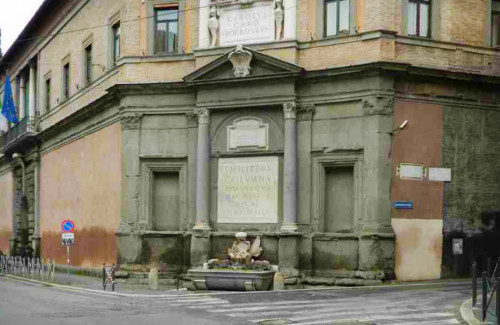 Fontana Publica przy via Flaminia