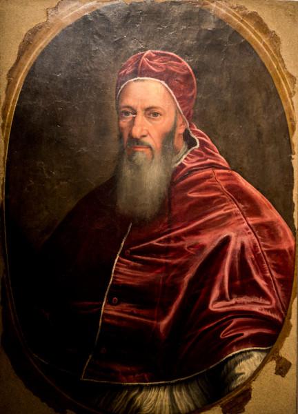 Juliusz III, portet papieża, Scipione Pulzone, Galleria Spada