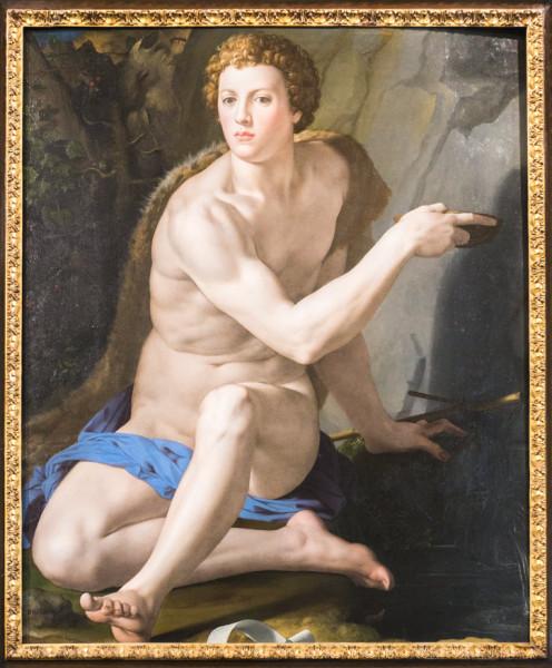 Święty Jan Chrzciciel, Bronzino, Galleria Colonna