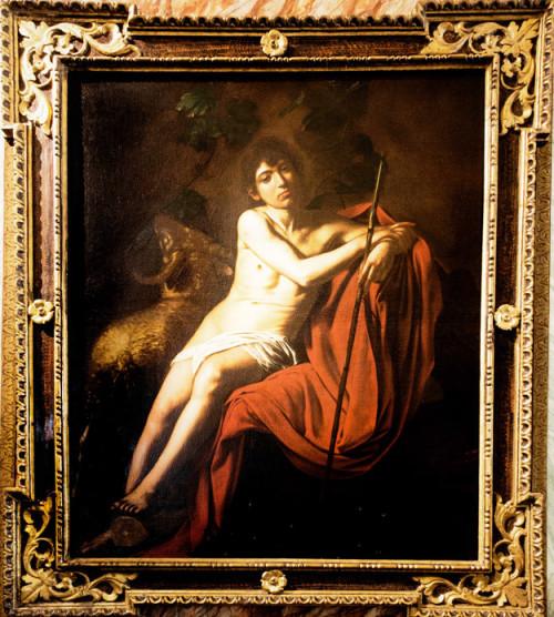 Święty Jan Chrzciciel, Caravaggio, Galleria Borghese
