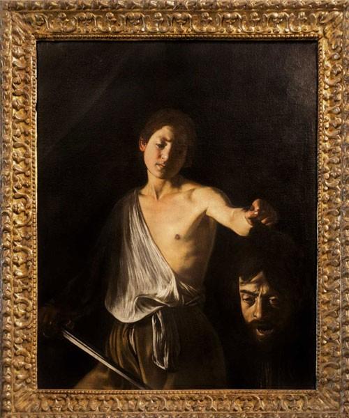Dawid z głową Goliata, Caravaggio, Galleria Borghese