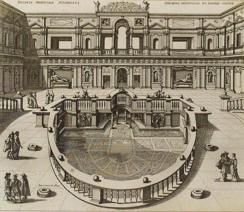 Bartolomeo Ammannati, nimfeum w kompleksie willi Giulia, zdj. Wikipedia