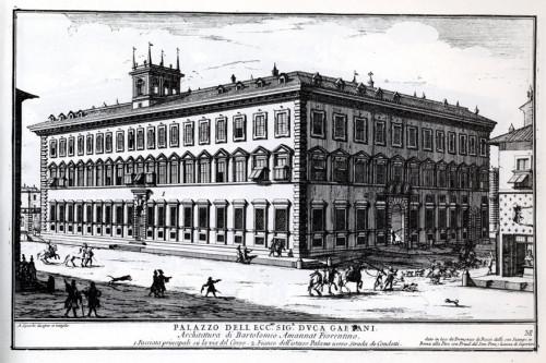 Palazzo-Ruspoli, Alessandro Specchi, Roma, 1699 r., zdj. Wikipedia