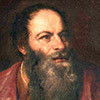 Portret Pietra Aretina, fragment, Tycjan, Palazzo Pitti, Florencja, zdj. Wikipedia