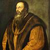 Portret Pietra Aretina, Tycjan, The Frick Collection, New York, zdj. Wikipedia