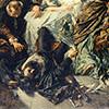 Śmierć Pietra Aretina, Anselm Feuerbach, 1854, Muzeum Sztuki, Bazylea, zdj. Wikipedia