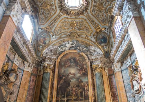 Kaplica Rospigliosi-Pallavicini, kościół San Francesco a Ripa