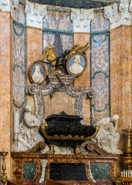 Nagrobek Stefana i Lazzara Pallavicinich, kościół San Francesco a Ripa
