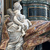 Pomnik nagrobny papieża Aleksandra VII, alegoria Miłosierdzia i Prawdy, projekt Gian Lorenzo Bernini, bazylika San Pietro in Vaticano