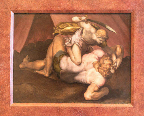 Daniele da Volterra, Dawid i Goliat, Galleria Nazionale d'Arte Antica, Palazzo Barberini