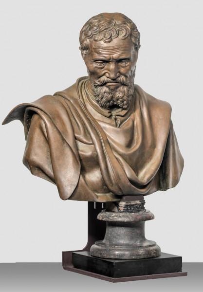Popiersie Michała Anioła, Daniele da Volterra, Galleria dell'Accademia di Firenze, Firenze