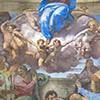 Daniele da Volterra, Wniebowzięcie Marii, fragment, kaplica della Rovere, kościół Santa Trinità dei Monti